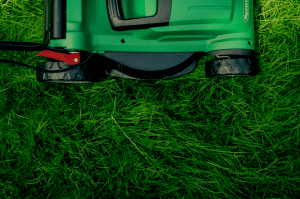 Lawn mower used by DC Lawn & Landscape in Fairhope, AL