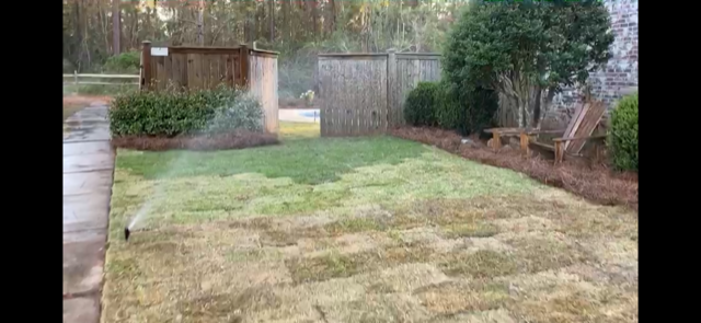 Sod installation watered by irrigation system by DC Lawn & Landscape in Fairhope, AL