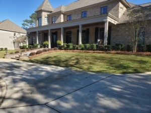 Routine lawn services by DC Lawn & Landscape in Fairhope, AL