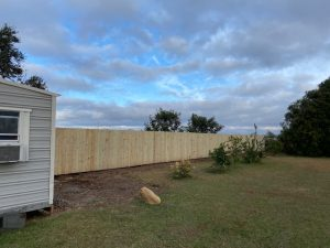 Privacy fence established for privacy by DC Lawn & Landscape in Fairhope, AL