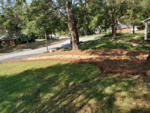 Rock drainage by DC Lawn & Landscape in Fairhope, AL