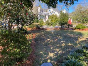 newly installed irrigation system by dc lawn & landscape in fairhope, alabama
