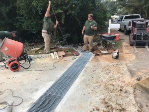 drainage installed by DC Lawn & Landscape in Fairhope, AL